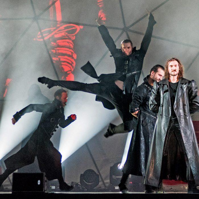 Dramos ir šokio spektaklis pagal Just. Marcinkevičiaus dramą MINDAUGAS