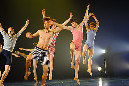 """Šuolaikinio baleto spektaklyje – """"The Beatles"""" ir I.Buninas"""