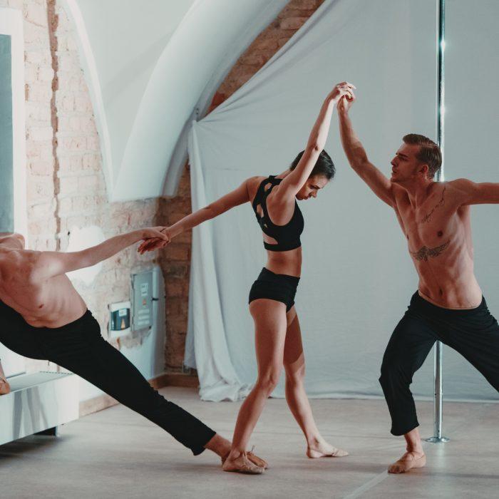 """""""WIND FLASH"""" Kamerinis šiuolaikinio baleto ir Pole dance šokio spektaklis"""